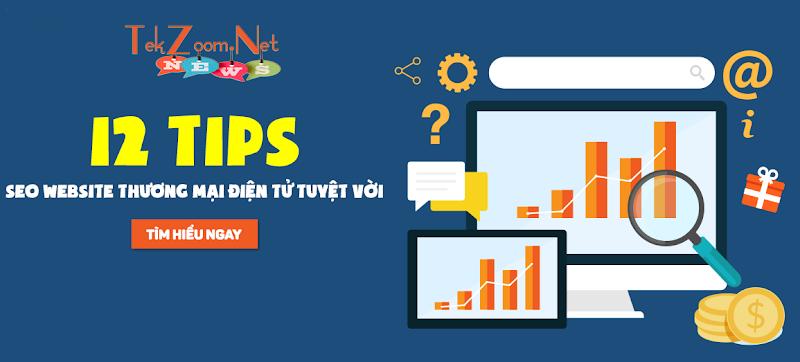 12 tips SEO website thương mại điện tử - kiếm tiền trên mạng hiệu quả