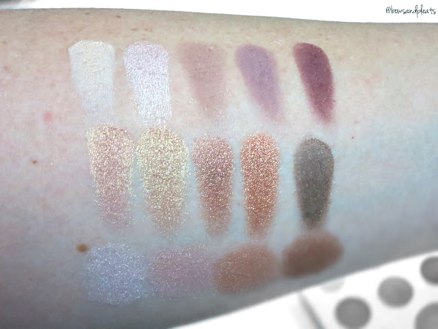 BH Cosmetics Carli Bybel Palette Swatches