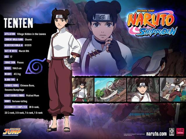 Naruto Character: Kumpulan Foto Tenten