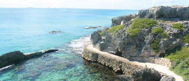 Bicicleta Tour no Parque Garrafon Natural Reef Park em Cancún