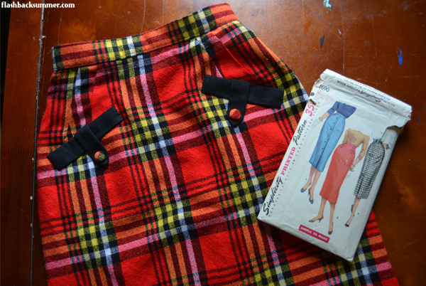 Flashback Summer: Maasai-Inspired 1950s Vintage Skirt