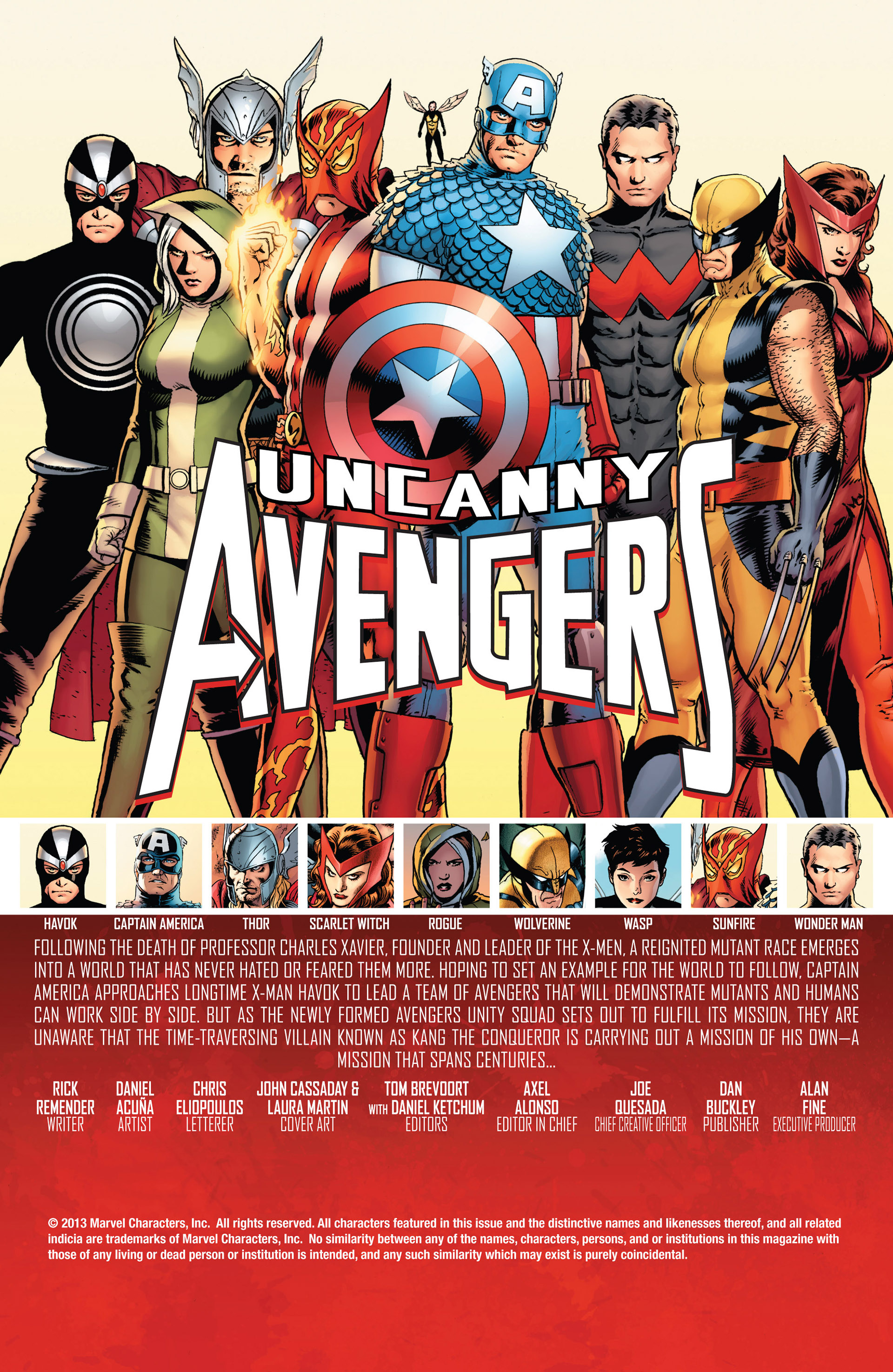 Read online Uncanny Avengers (2012) comic -  Issue #6 - 2