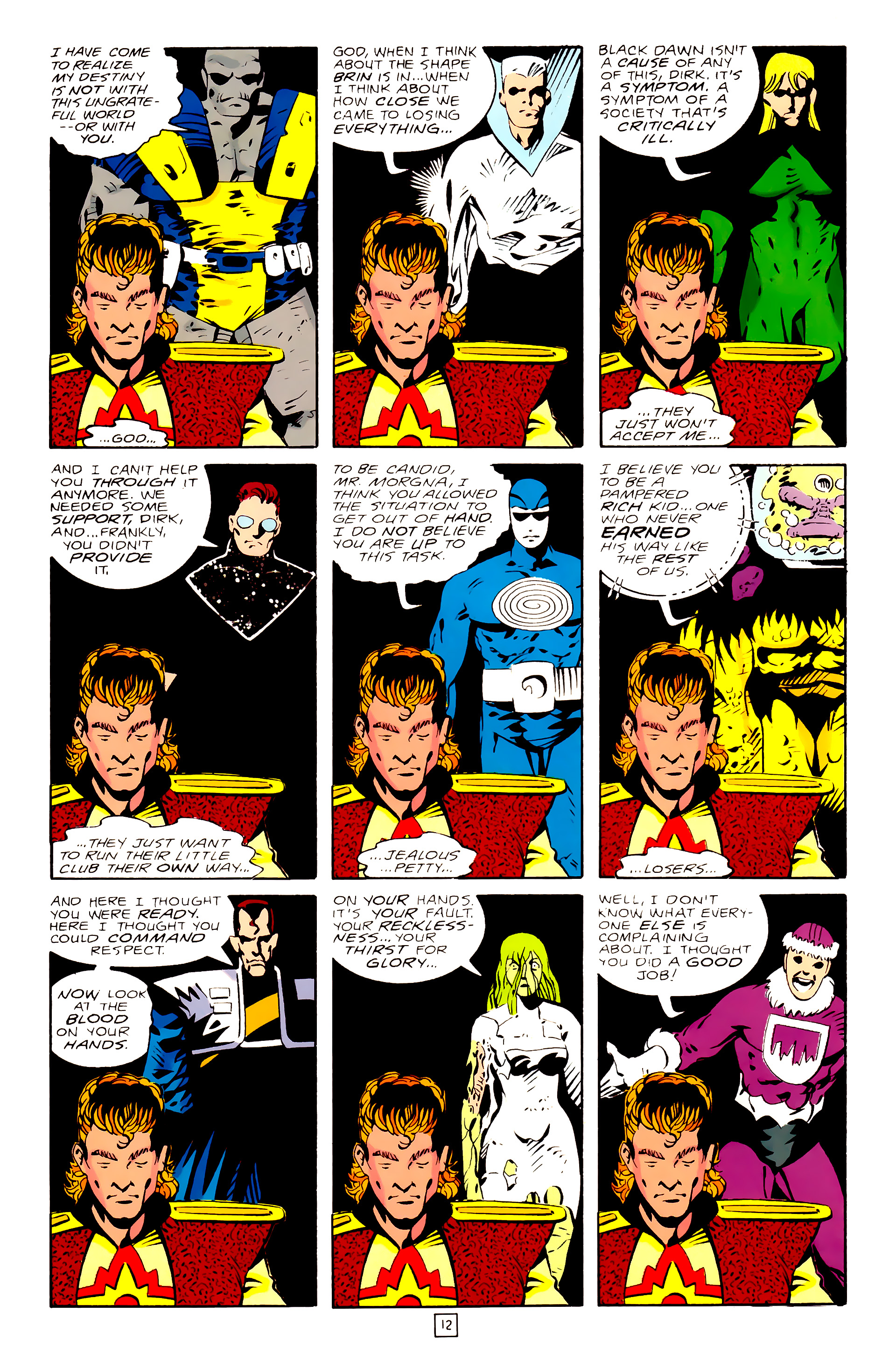 Legion of Super-Heroes (1989) 28 Page 12