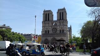 Die Kathedrale Notre Dame Paris Frankreich