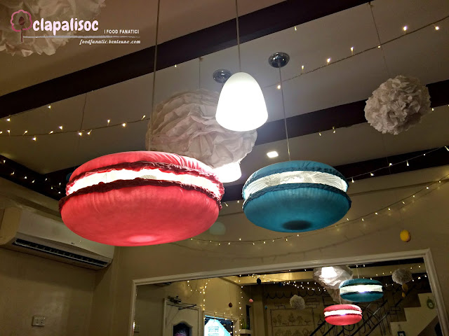 Macaron lamps from Mrs Grahams Cafe