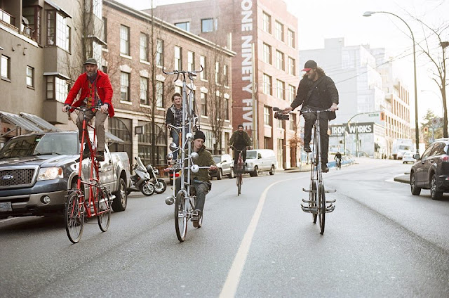 Canadian brothers design double-decker bikes, entertainment news