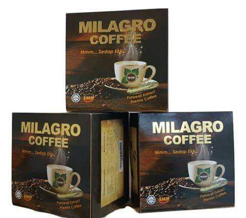 milagro coffee patawali, minuman kesihatan, penawar pelbagai penyakit