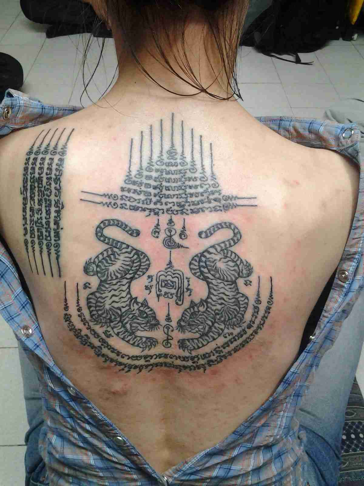 Tatuaje de Sak Yant