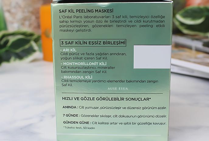 loreal-paris-saf-kil-peeling-maskesi