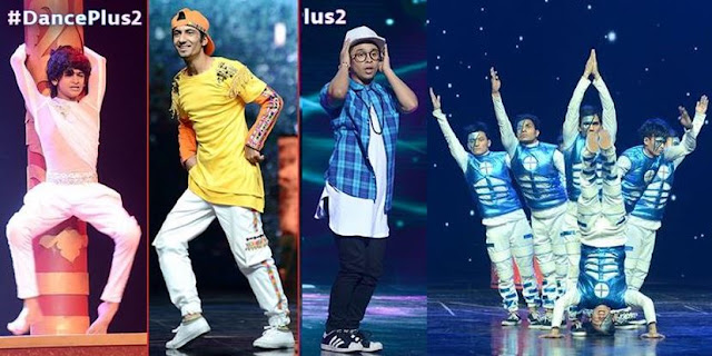 dance plus 2 top 4