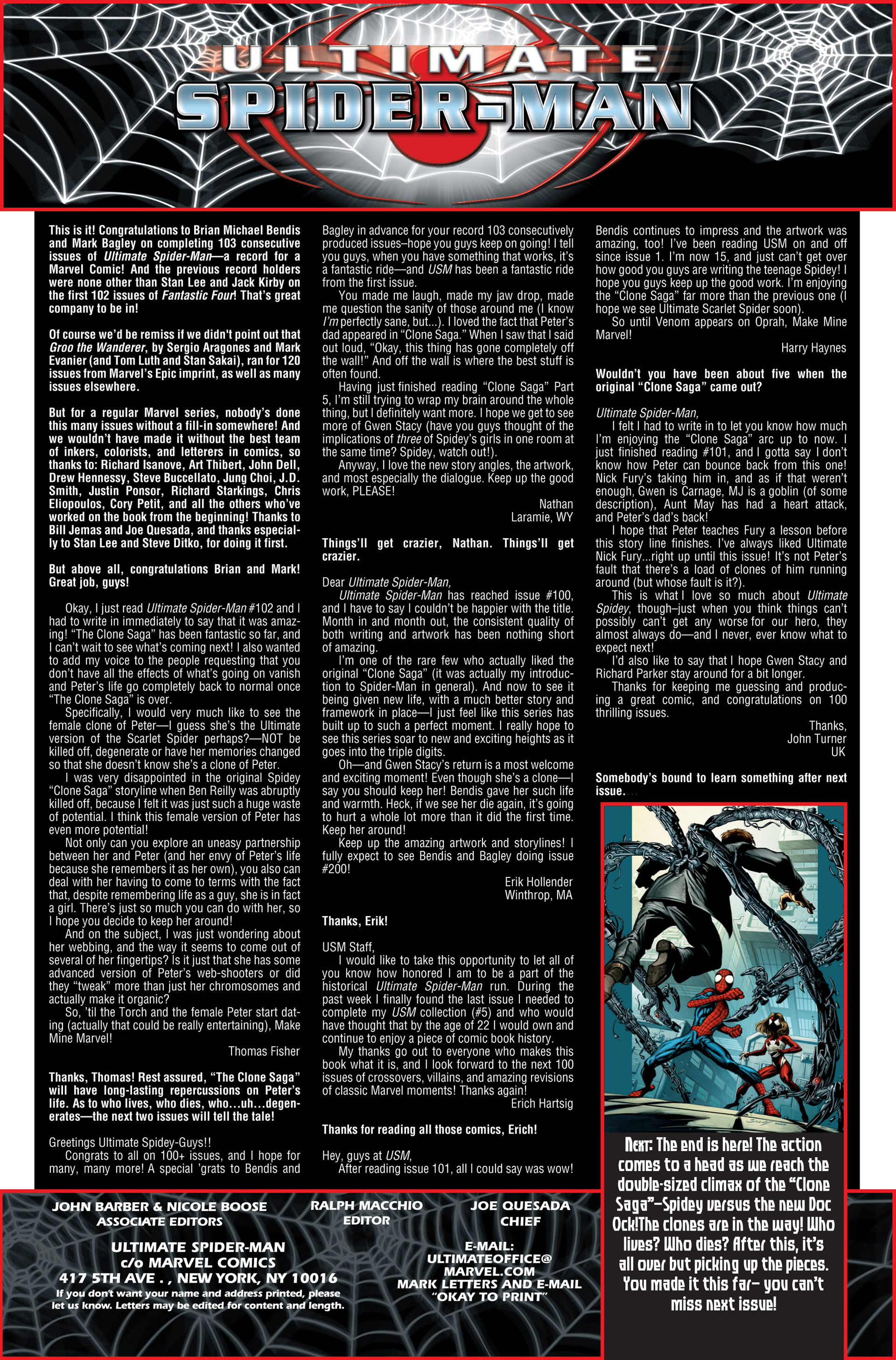 Read online Ultimate Spider-Man (2000) comic -  Issue #103 - 21