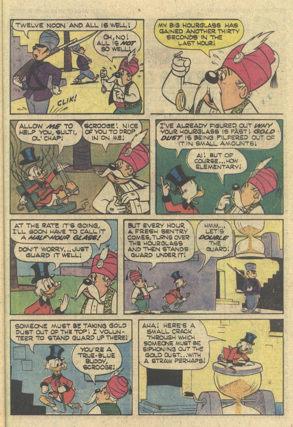 Read online Uncle Scrooge (1953) comic -  Issue #168 - 29