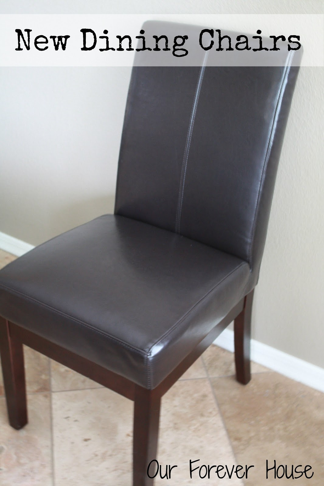costco dining chairs reupholster kitchen chair our forever house new in the nook