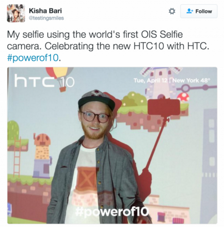HTC 10 could have world's first selfie camera with IOS