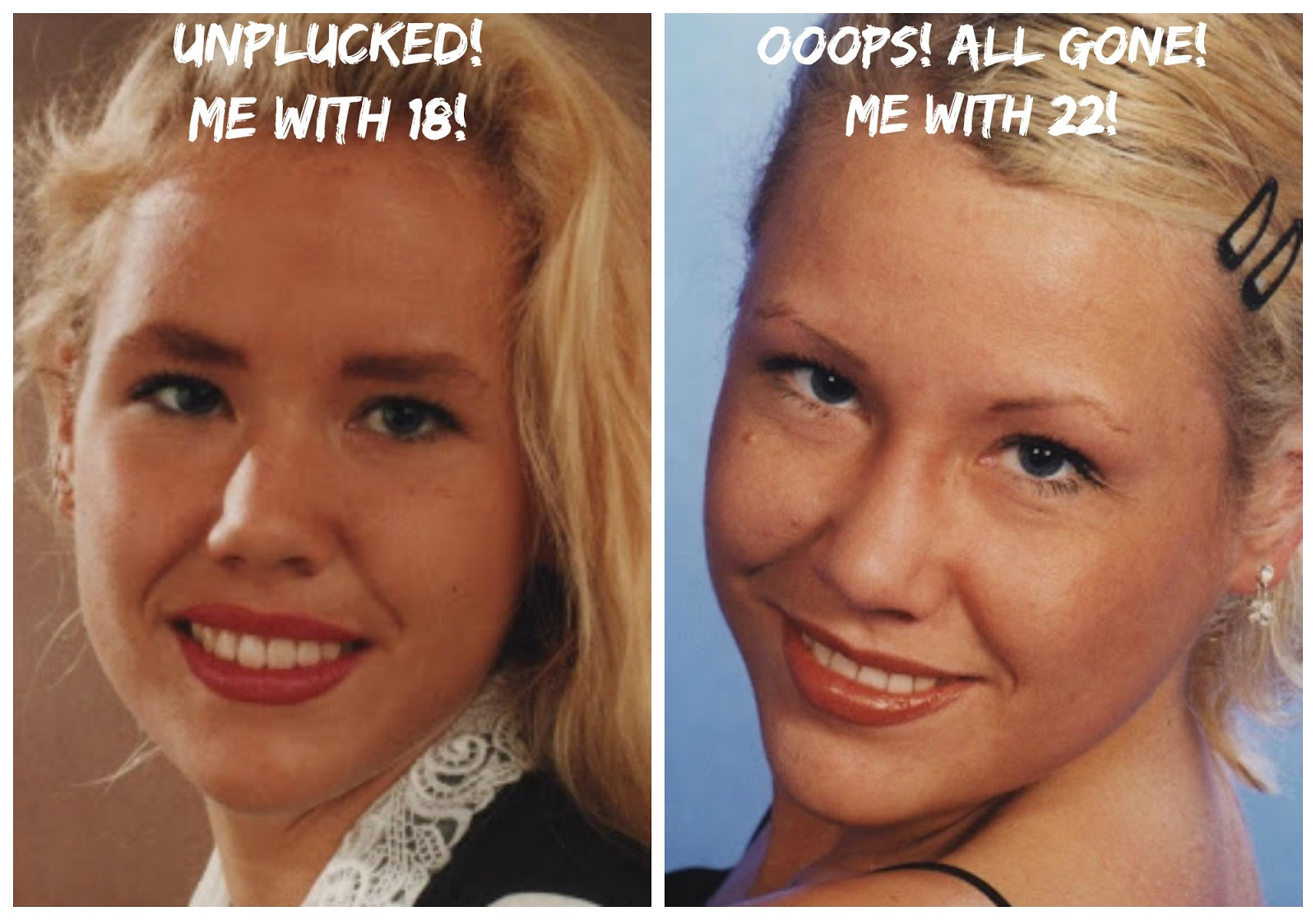 Pamela Anderson Made Me Do It Unplug My Eyebrows