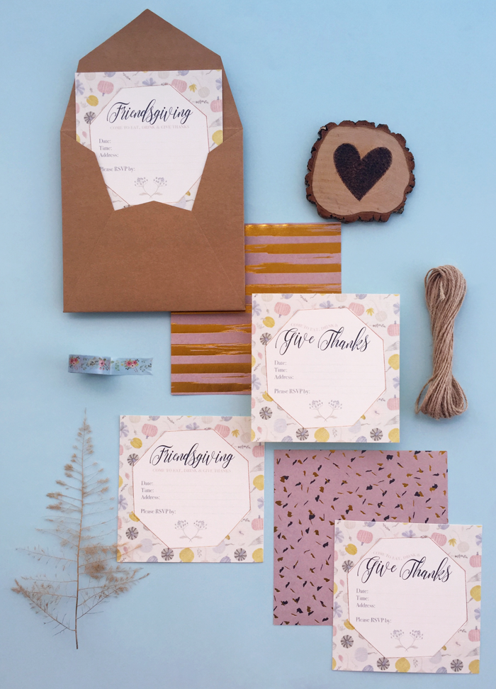 Valentina Vaguada: stationary, thanksgiving, accion de graces, tarjetera, freebie