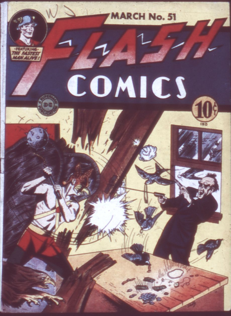 Flash Comics 51 Page 1