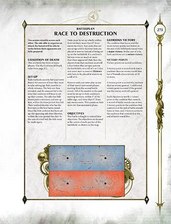 Battleplan Race to Destruction