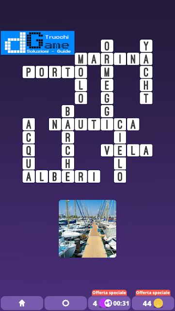Soluzioni One Clue Crossword livello 12 schemi 7(Cruciverba illustrato)  | Parole e foto