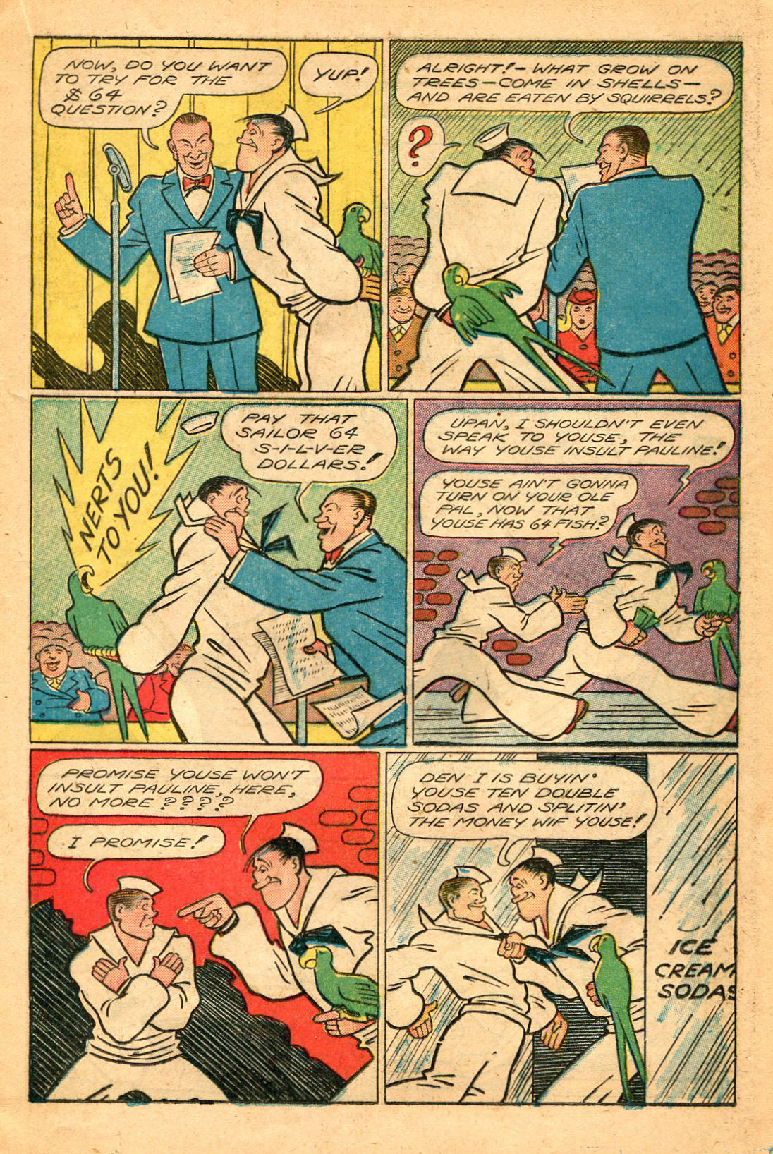 Read online Shadow Comics comic -  Issue #60 - 21