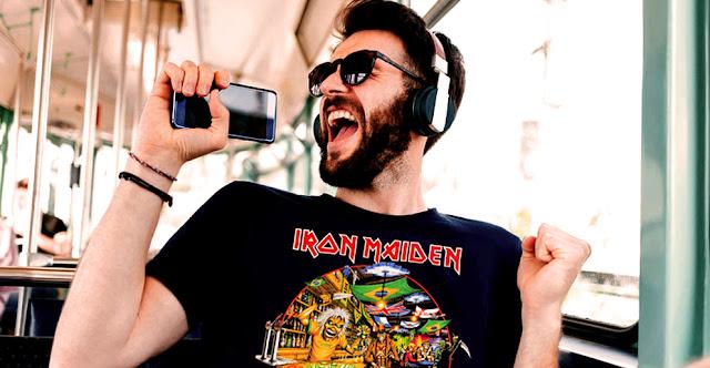 Spotify: São Paulo é a cidade que mais ouve Iron Maiden no mundo