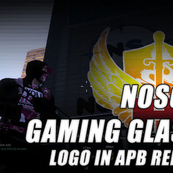 NoScope Gaming Glasses ★ Logo In APB Reloaded
