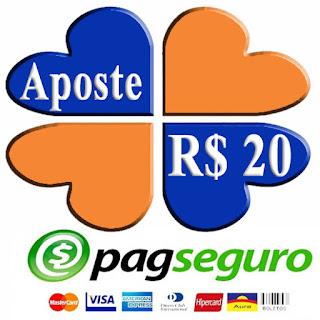 Aposte R$ 20 - PagSeguro