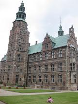 Hannah 5 Rosenborg Castle & Gardens - Copenhagen Denmark