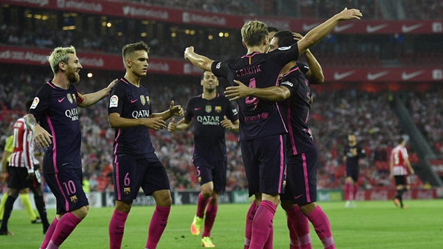 [Video] Cuplikan Gol Athletic Bilbao 0-1 Barcelona (Liga Spanyol)
