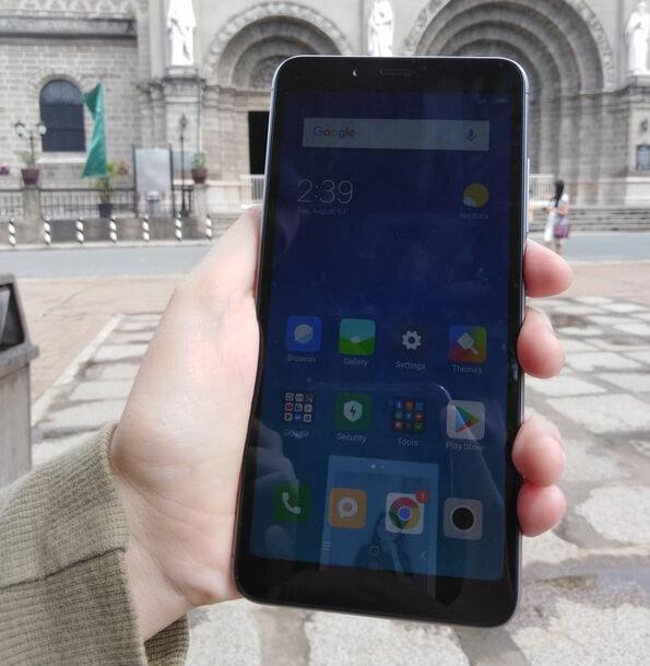 Xiaomi Redmi 6 - Front