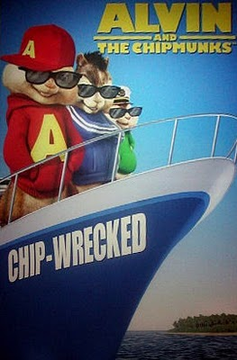 alvin and the chipmunks chip wrecked dvd release alvin and the