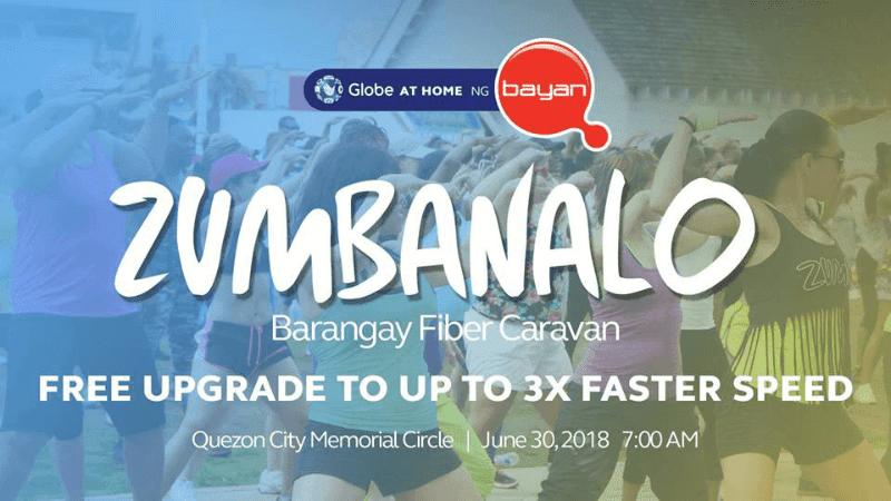Zumbanalo Barangay Fiber Caravan
