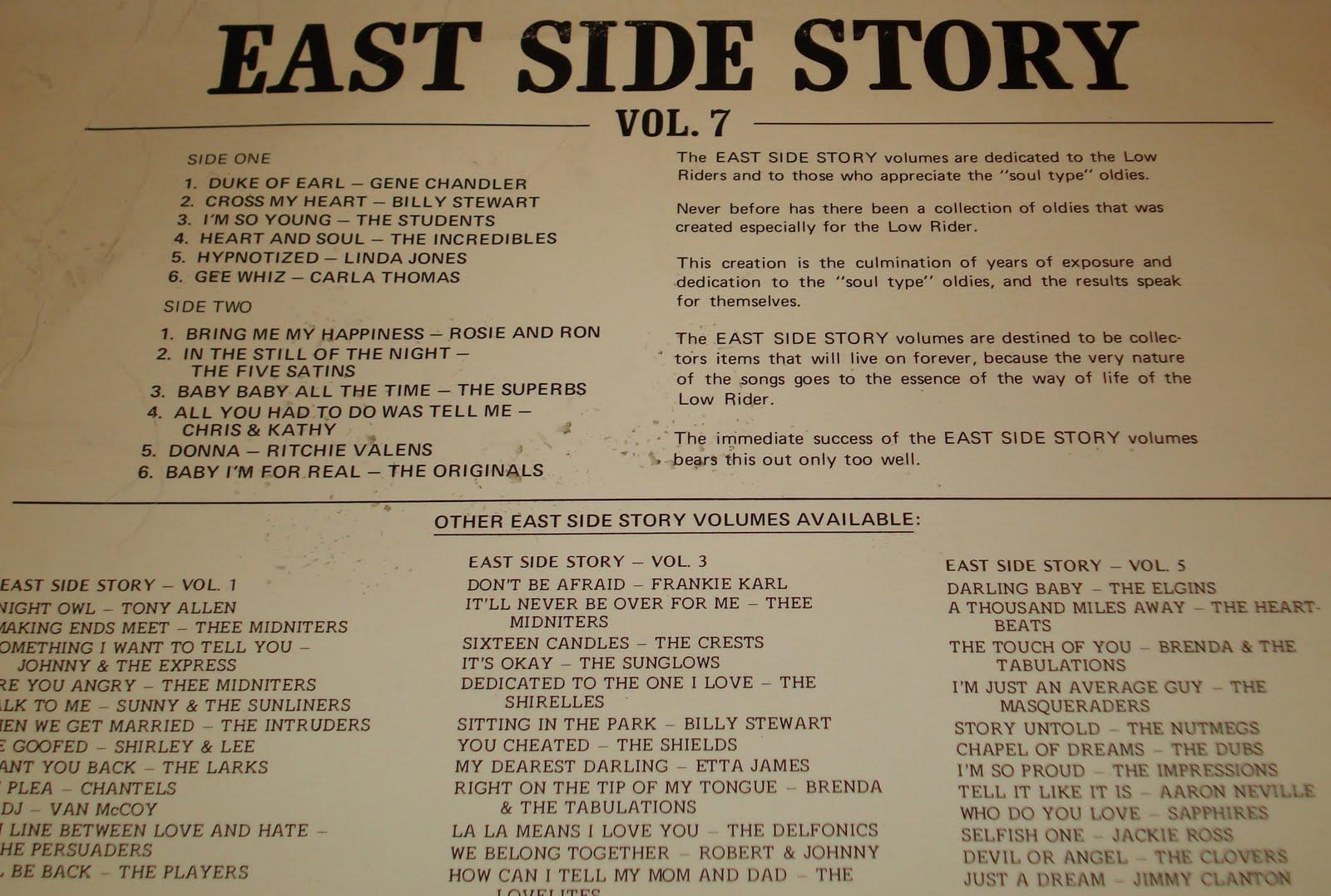 East side story essay   Custom paper Example