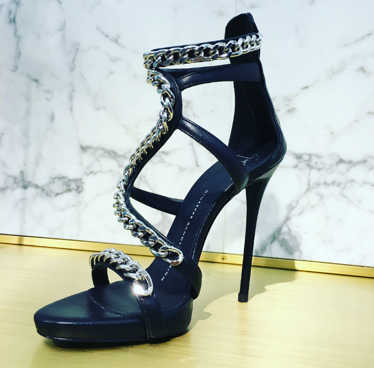 Giuseppe Zanotti Samantha Sandals on Sale