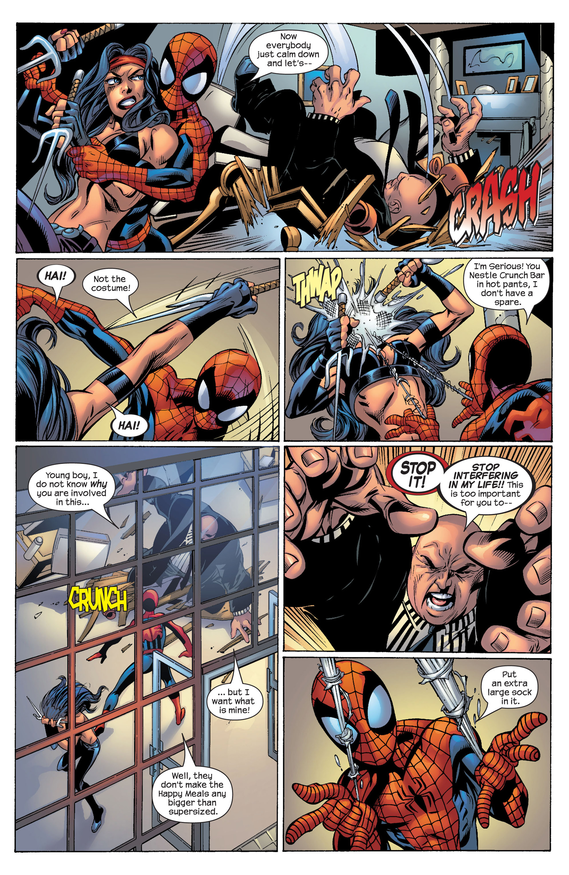 Read online Ultimate Spider-Man (2000) comic -  Issue #53 - 18