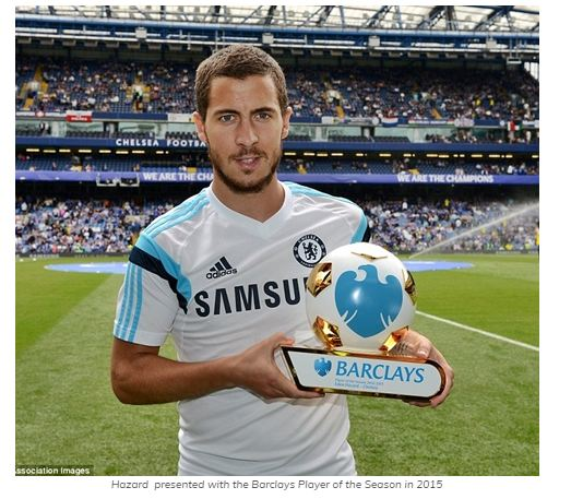 I Want to Win the Ballon d'Or in England – Hazard Reveals as Chelsea is Set to be Crowned EPL Champions