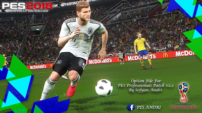 PES 2018 PES Professionals Patch 2018 Option File 18-06-2018 by Sofyan Andri