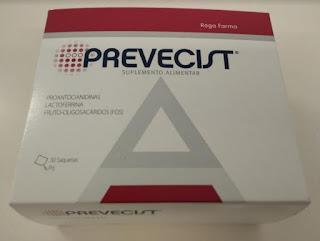 Prevecist reduz o risco das infecções urinarias