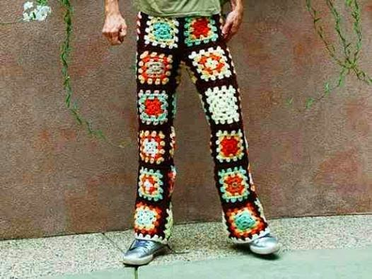 crochet man pants