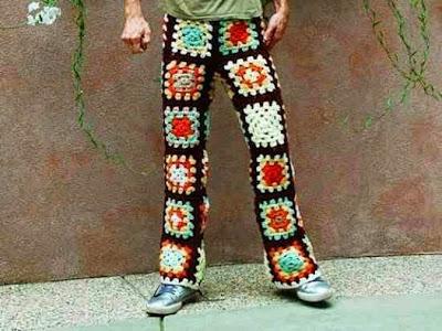 crochet man pants