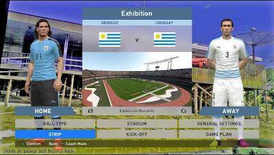 PES 2016 Uruguay Kits 2017 by Mansyah
