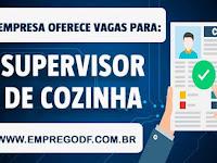 Emprego para Supervisor de cozinha (R$ 2.000,00) - 12.11.18