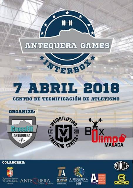 Competición Interbox de CrossFit en Antequera