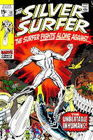 Silver Surfer v1 #18 marvel comic book cover art by Jack Kirby