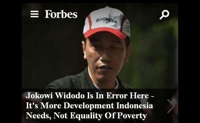 Ka'ban Tunggu Tanggapan Istana Soal Pemerintahan Jokowi yang Disebut Error oleh Forbes
