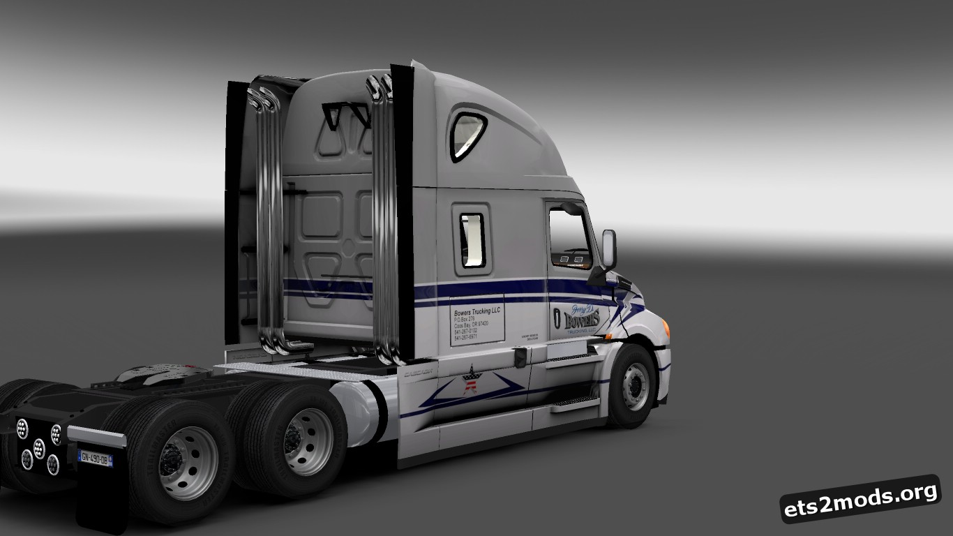 Bowerrs Trucking LLC Skin for Freightliner Cascadia 2018