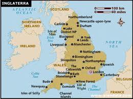 mapa do sul de inglaterra Sobre a Inglaterra   Por aí, na Inglaterra mapa do sul de inglaterra