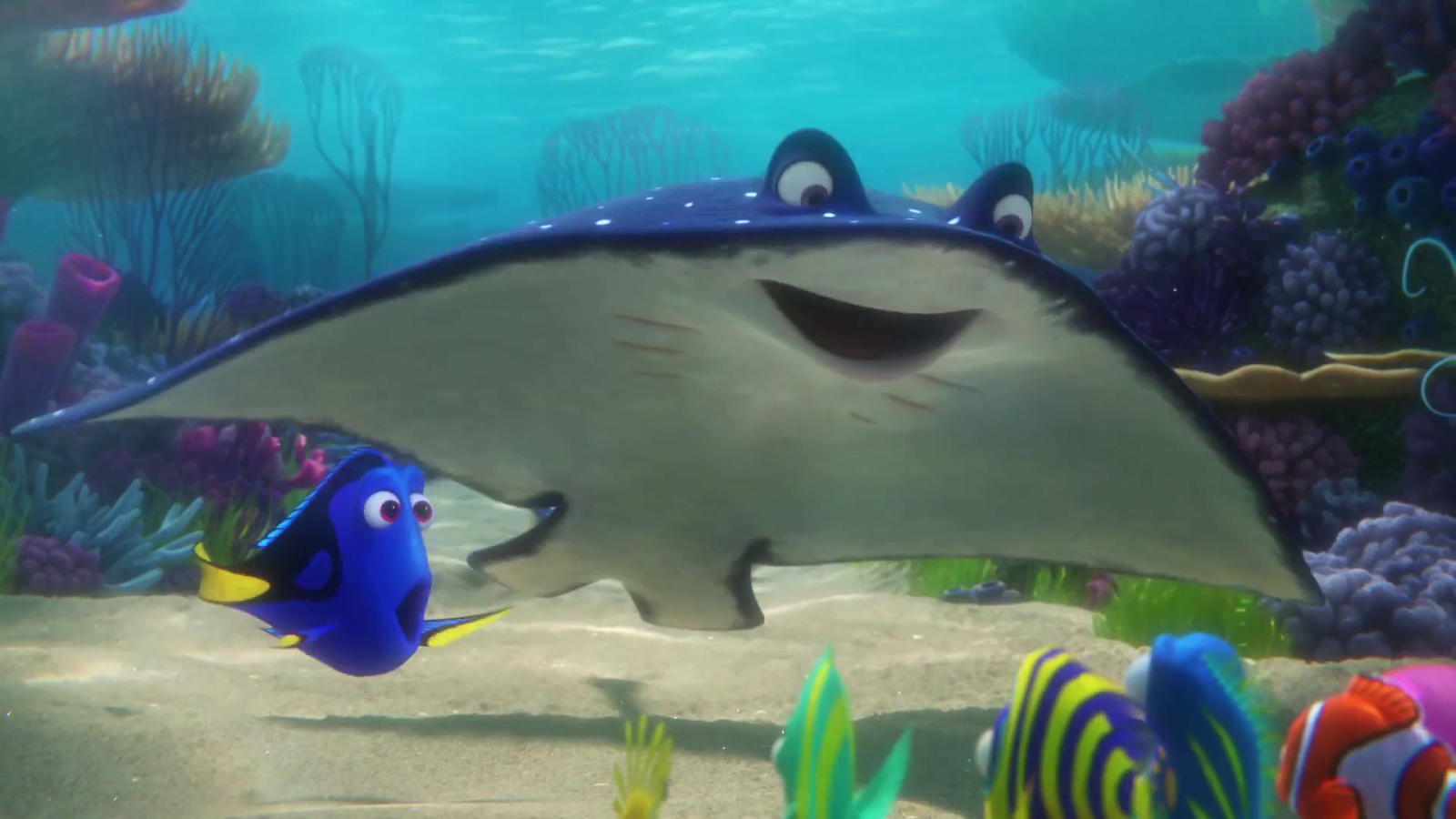 Finding Nemo Characters Mr Ray Pixar Post: Mar...