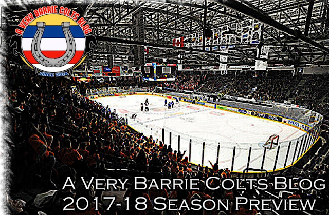 2017-18 A Very Barrie Colts Season Preview. #OHL