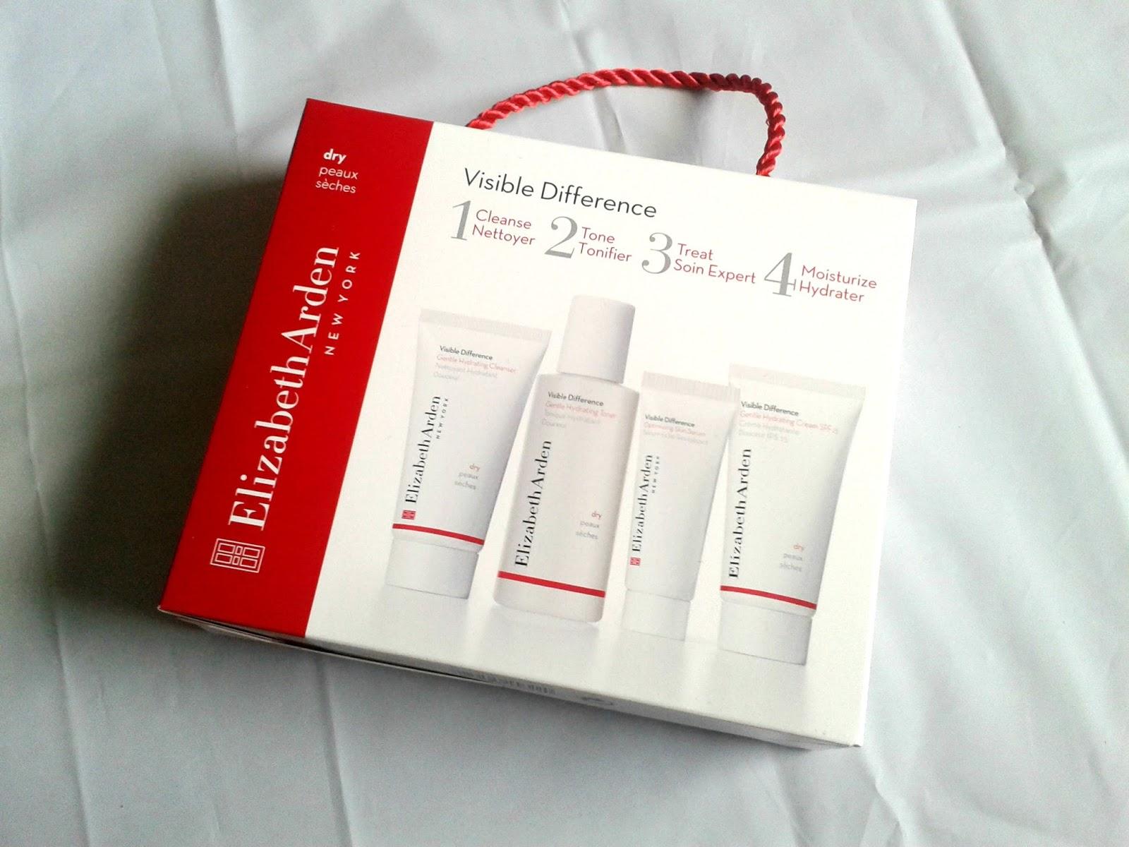 Elizabeth Arden Visible Difference Dry Skin Set